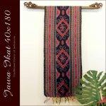 ジャワイカット40x180-003 バリ 布 織物の画像