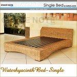 グレイスノート ウォーターヒヤシンス ベッド シングルの画像