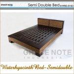 グレイスノート ウォーターヒヤシンス ベッド セミダブルの画像