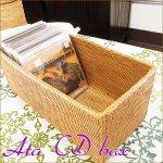 アタ CDボックスL バリ雑貨 テンガナン編みの画像