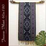 ジャワイカット40x180-004 バリ 布 織物の画像