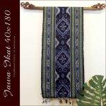 ジャワイカット40x180-005 バリ 布 織物の画像
