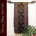 ジャワイカット40x180-007 バリ 布 織物の画像