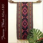 ジャワイカット40x180-008 バリ 布 織物の画像