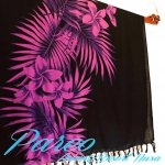 パレオ 大判 サラサ-025 かわいい おしゃれ 更紗  タヒチアン ハワイアンの画像