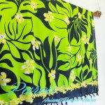 パレオ タヒチアン サラサ-029 布 更紗 マルチカバー タペストリーの画像