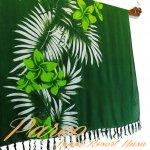 パレオ タヒチアン サラサ-009 ハワイアン 布 更紗 マルチカバーの画像