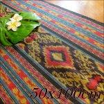 イカット ジャワイカット 50x100cm−003 布織物の画像