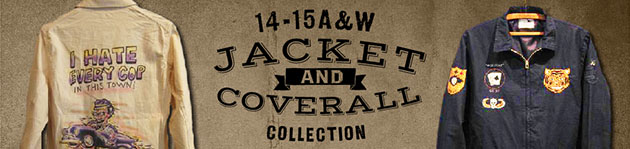 14-15A&W JACKET&COVERALL COLLECTION