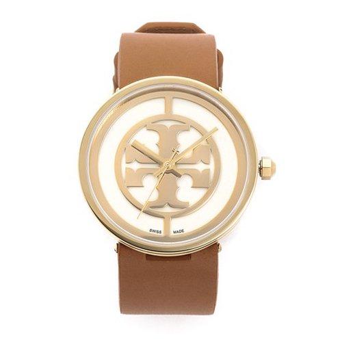 トリーバーチ 腕時計 TRB4004 ブラウンレザーベルト