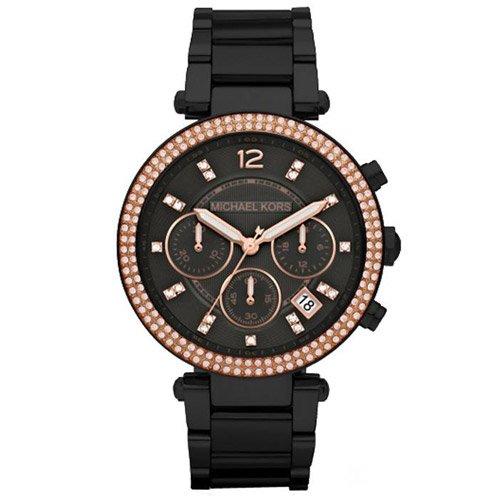 マイケルコース/腕時計/Michael Kors/パーカー/MK5885/ブラックダイアル×ブラックステンレスベルト
