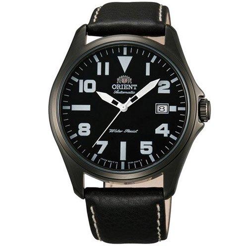 オリエント 時計 ウィングマン ER2D001B オートマチック ブラックダイアル×ブラックレザーベルト
