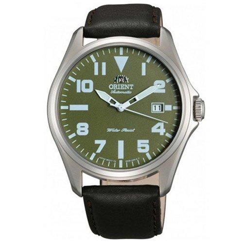 オリエント 時計 ウィングマン ER2D009F オートマチック グリーンダイアル×ブラウンレザーベルト