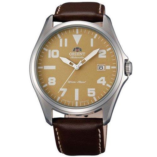 オリエント 時計 ウィングマン ER2D00AN オートマチック ブラウンダイアル×ブラウンレザーベルト