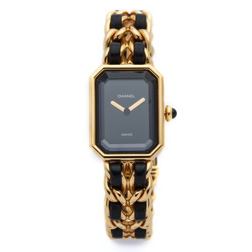 シャネル時計/Chanel/レディース腕時計/プルミエール/ヴィンテージ/ブラック×ゴールド