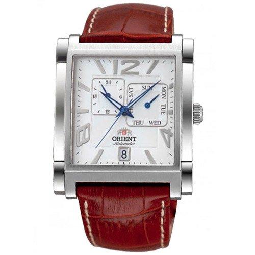 オリエント 時計 ギャラン ETAC005W オートマチック ホワイトダイアル×ブラウンレザーベルト