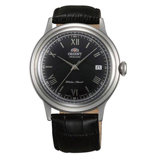オリエント 時計 バンビーノ ER2400DB オートマチック ブラックダイアル×ブラックレザーベルト