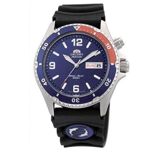 オリエント 時計 マコ CEM65003DW オートマチック ダイバーズウォッチ ブルーダイアル×ブラックラバーベルト
