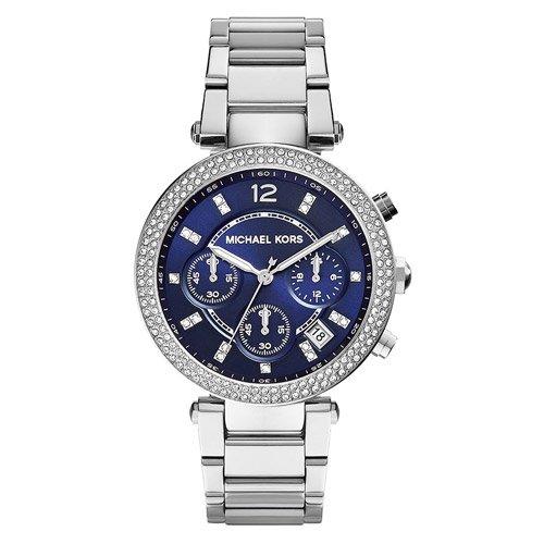 マイケルコース/腕時計/Michael Kors/ パーカー/MK6117/ブルーダイアル×ステンレスベルト