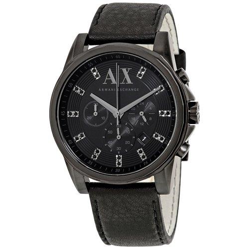 アルマーニエクスチェンジ 腕時計 メンズ AX2507 オールブラック
