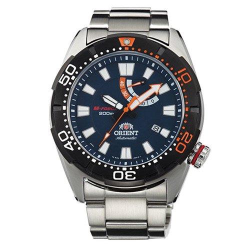 オリエント 時計 M-フォース EL0A002D オートマチック ダイバーズウォッチ ブルーダイアル×ステンレスベルト