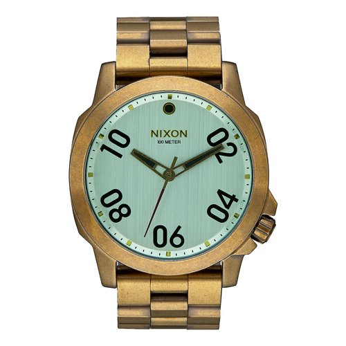 ニクソン 時計 レンジャー A5212230 ブラス×グリーンクリスタル