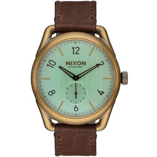 ニクソン 時計 C-39 A4592223 ブラス×グリーンクリスタル