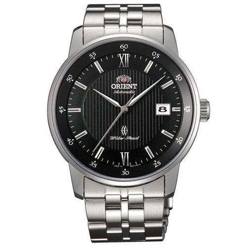 オリエント 時計 エージェント ER02002B オートマチック ブラックダイアル×ステンレスベルト