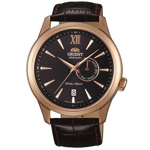 オリエント 時計 ジャバ ES00004B オートマチック ブラウンダイアル×ブラウンレザーベルト