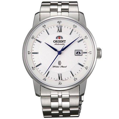 オリエント 時計 エージェント ER02003W オートマチック ホワイトダイアル×ステンレスベルト