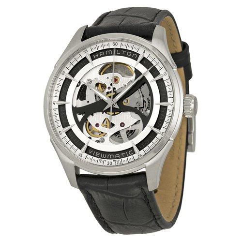 ハミルトン 時計 ジャズマスター H42555751 スケルトンジェント ブラックレザー