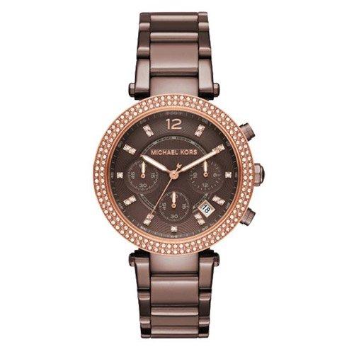 マイケルコース/腕時計/Michael Kors/パーカー/MK6378/ブラウンダイアル×ブラウンステンレスベルト
