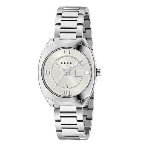 グッチ 時計 GG2570 YA142502 スモール シルバーダイアル×ステンレスベルト