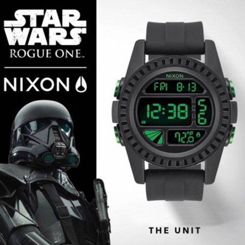 ニクソン/NIXON/時計/スターウォーズ/STAR WARS/デス・トルーパー/ユニット/A197SW-2723/デジタルダイアル/ブラックラバーベルト