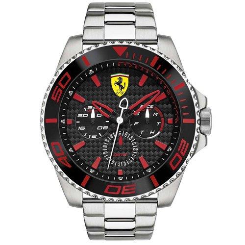 スクーデリア・フェラーリ/Scuderia Ferrari/時計/XX Kers/0830311/ブラックダイアル×ステンレスベルト