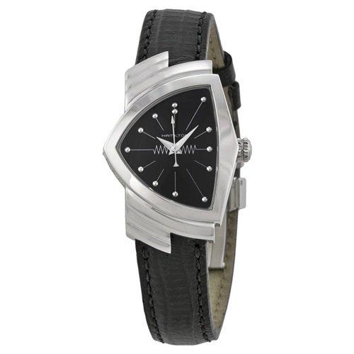 ハミルトン/Hamilton/腕時計/ベンチュラ/Ventura/レディース/H24211732/シルバー×ブラックレザー