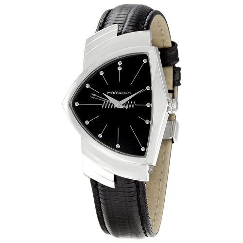 ハミルトン/Hamilton/腕時計/ベンチュラ/Ventura/メンズ/H24411732/シルバー×ブラックレザー