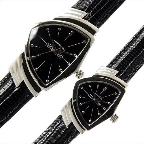 ハミルトン/Hamilton/腕時計/ベンチュラ/Ventura/ペアウォッチ/ H24211732,H24411732/シルバー×ブラックレ…