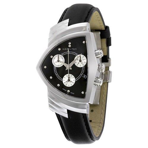 ハミルトン/Hamilton/腕時計/ベンチュラ/Ventura/クロノグラフ/メンズ/H24412732/ブラック×シルバー×ブラックレ…