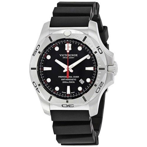 ビクトリノックス/VICTORINOX/腕時計/INOX/プロフェッショナルダイバー/241733/200m防水/ブラック×ブラック