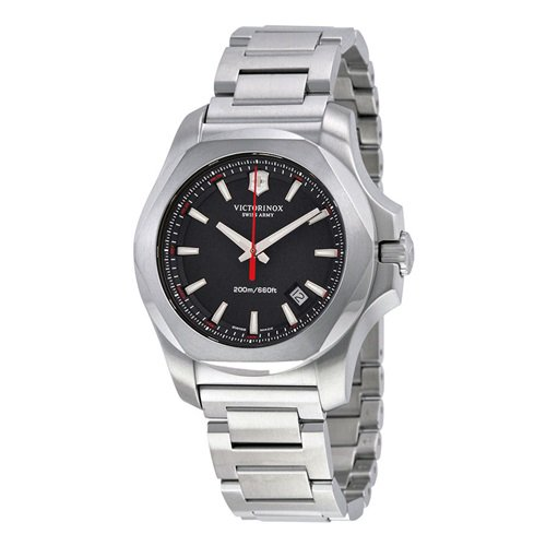 ビクトリノックススイスアーミー/VICTORINOX SWISS ARMY/腕時計/INOX/241723.1/200m防水/ブラック×シルバー