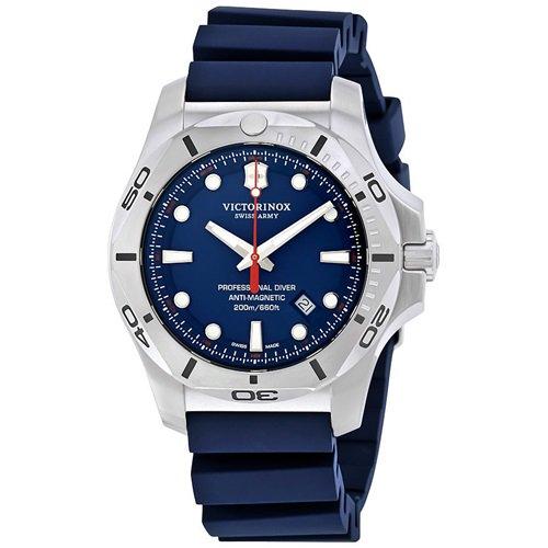 ビクトリノックス/VICTORINOX/腕時計/INOX/プロフェッショナルダイバー/241734/200m防水/ブルー×ブルーラバー