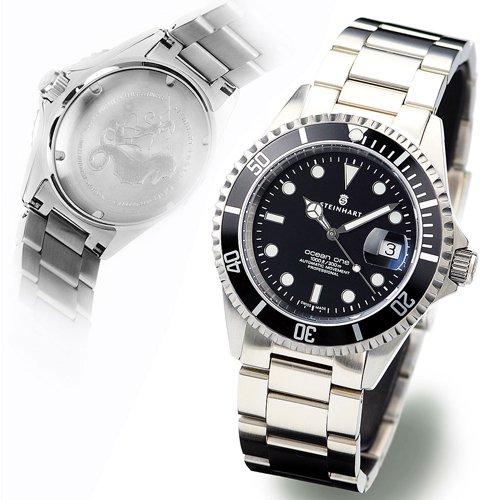スタインハート/Steinhart/腕時計/オーシャン/Ocean 1 Black/ダイバーズウォッチ/メンズ/スイスメイド