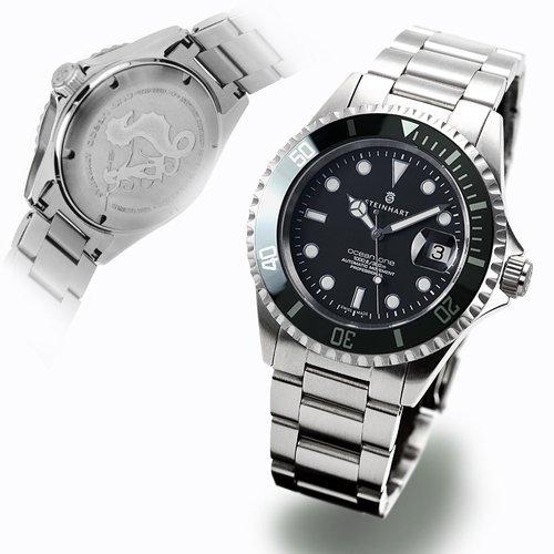 スタインハート/Steinhart/腕時計/オーシャン/Ocean 1 Black Ceramic/ダイバーズウォッチ/メンズ/スイスメイド