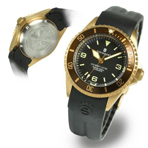 スタインハート/Steinhart/腕時計/オーシャン/Ocean 1 Bronze Dark Brown/ダイバーズウォッチ/メンズ/スイスメイド