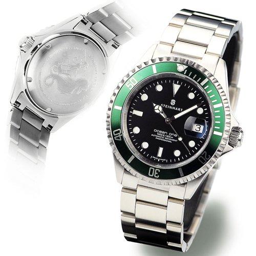 スタインハート/Steinhart/腕時計/オーシャン/Ocean 1 Green/ダイバーズウォッチ/メンズ/スイスメイド