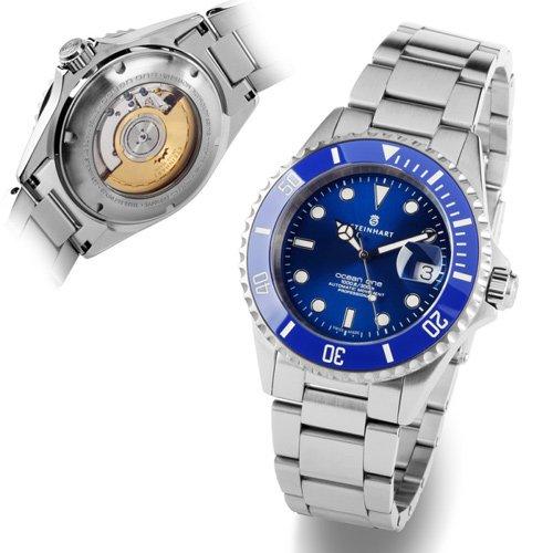 スタインハート/Steinhart/腕時計/オーシャン/Ocean 1 Premium Blue/ダイバーズウォッチ/メンズ/スイスメイド