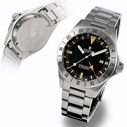 スタインハート/Steinhart/腕時計/オーシャン/Ocean GMT Vintage/ダイバーズウォッチ/メンズ/スイスメイド