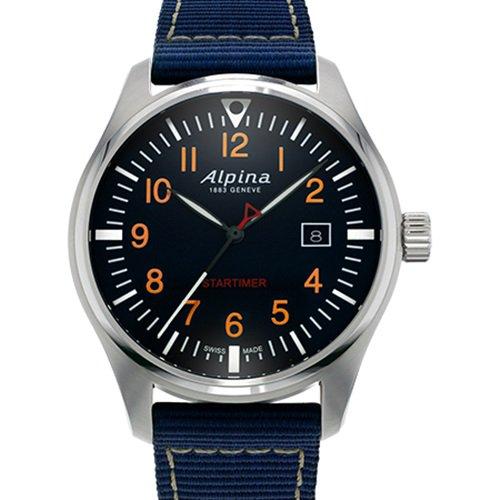 アルピナ/Alpina/腕時計/STARTIMER PILOT/メンズ/スイスメイド/AL-240N4S6/パイロットウォッチ/ネイビーブルー