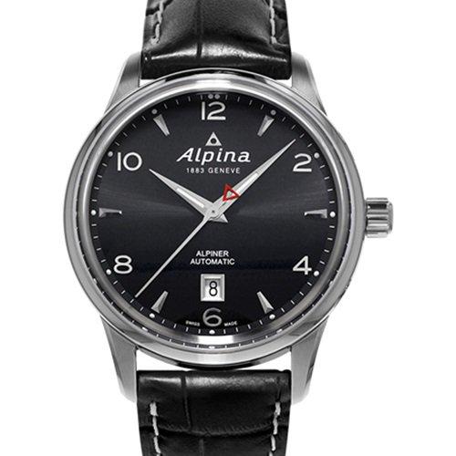 アルピナ/Alpina/腕時計/ALPINER AUTOMATIC/メンズ/スイスメイド/AL-525B4E6/ブラック×ブラック